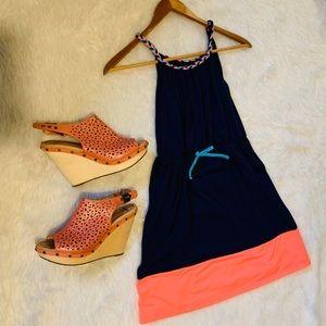 Dresses & Skirts - Navy beach dress